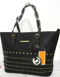 Branded Exclusive Leather Black Handbag for Girls