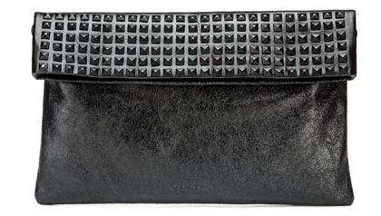 Elegance Flap Black Party Evening Bag