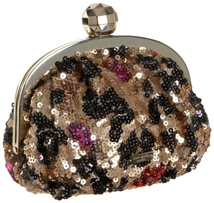 Embroidered Beaded Evening Baguette Clutch Purse