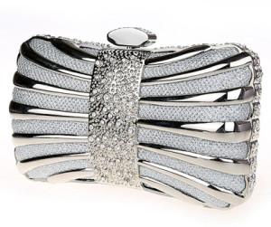 Diamond Iron Box Luxury Party Handbag by Clutch