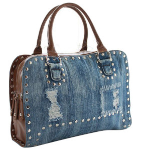 Jeans Cloth Fashionable Designer Handbag