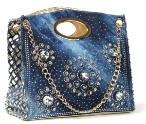 Weave Punk Rivet Chain Portable Designer Purse