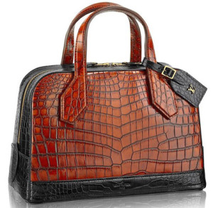 Louis Vuitton Crocodile Designer Lady Bag